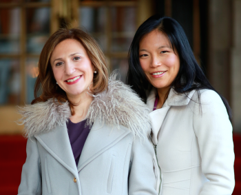 Romy Newman & Georgene Huang, Co-founders of Fairygodboss