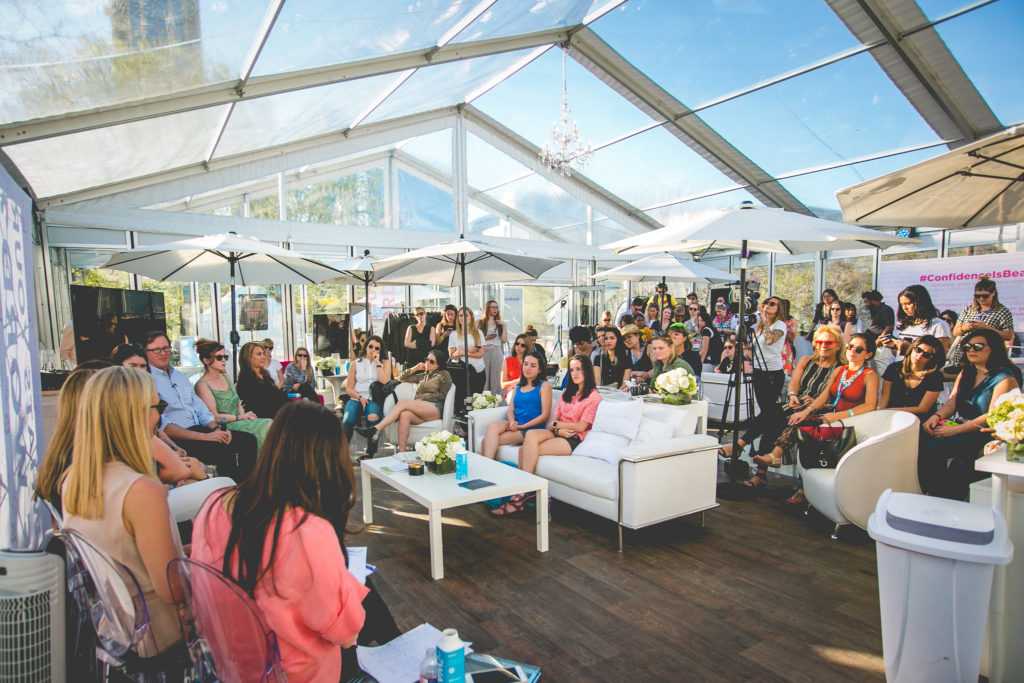 Power women meet up in The Girls' Lounge in Cannes Lion 2016